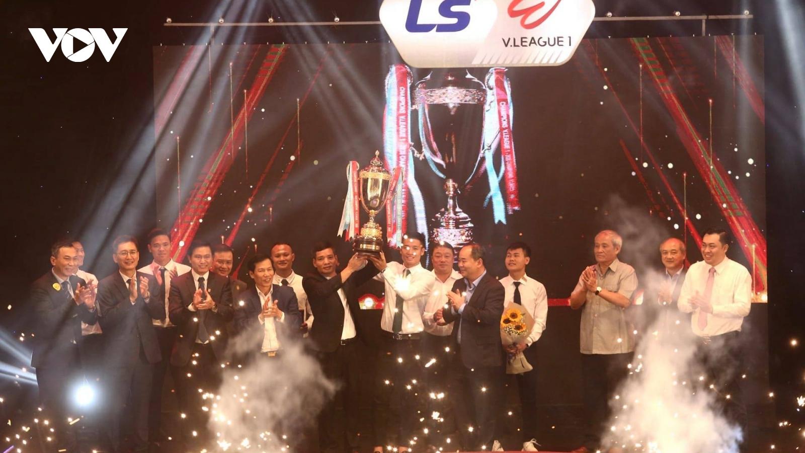 Toàn cảnh: Lễ trao giải V-League Awards 2020