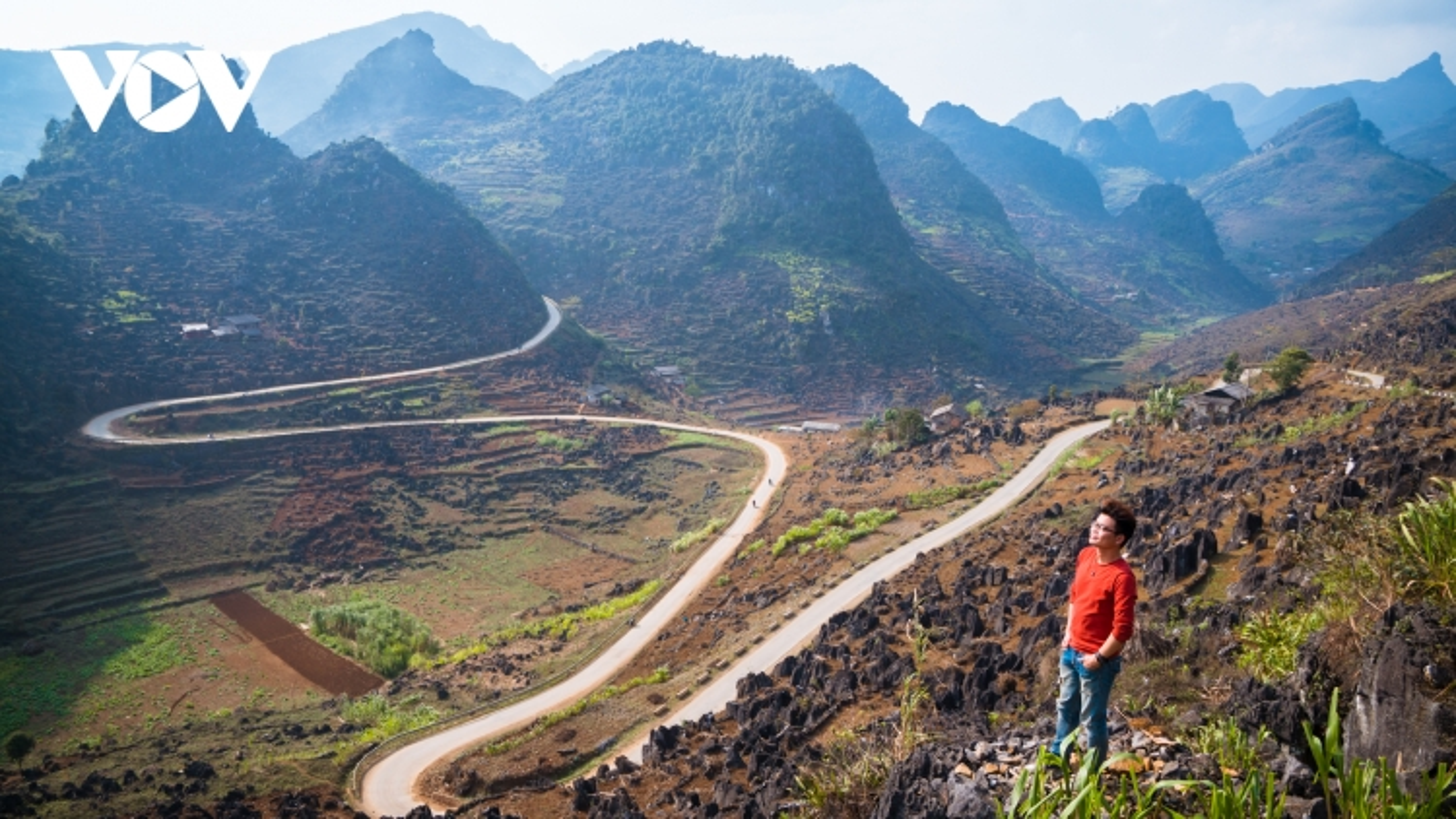 Vẻ đẹp của những cung đường đèo, dốc trên Cao nguyên đá