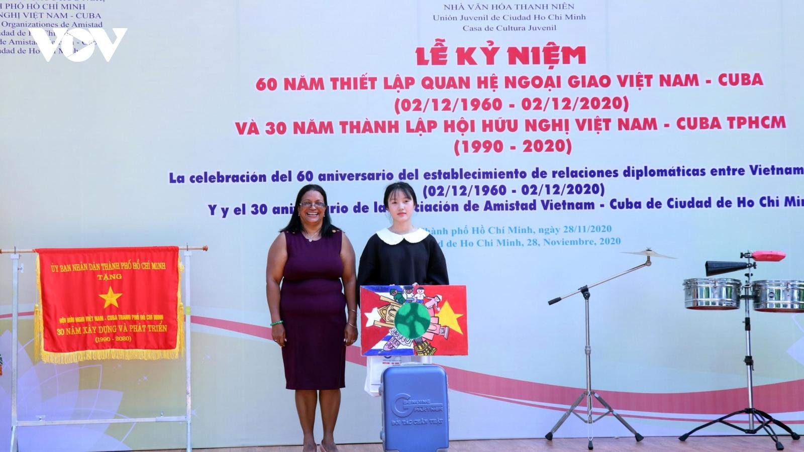 TPHCM kỷ niệm 60 năm thiết lập quan hệ ngoại giao Việt Nam - Cuba