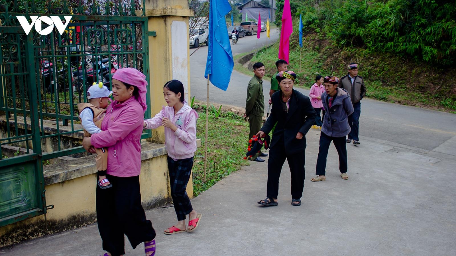 """""""Nôi cách mạng"""" Mường Bo (Lào Cai) mừng đón danh hiệu nông thôn mới"""
