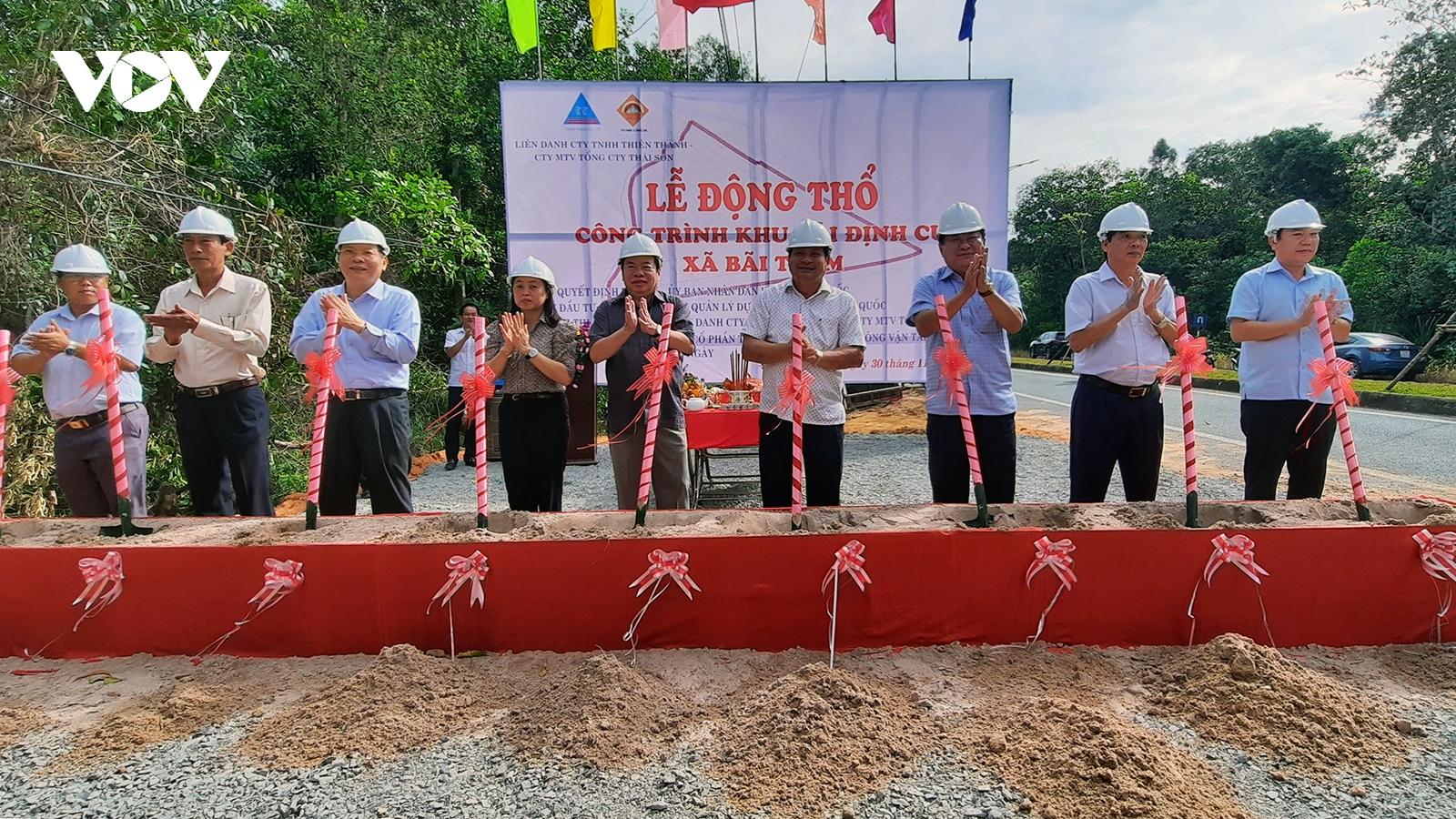 Phú Quốc động thổ công trình khu tái định cư xã Bãi Thơm