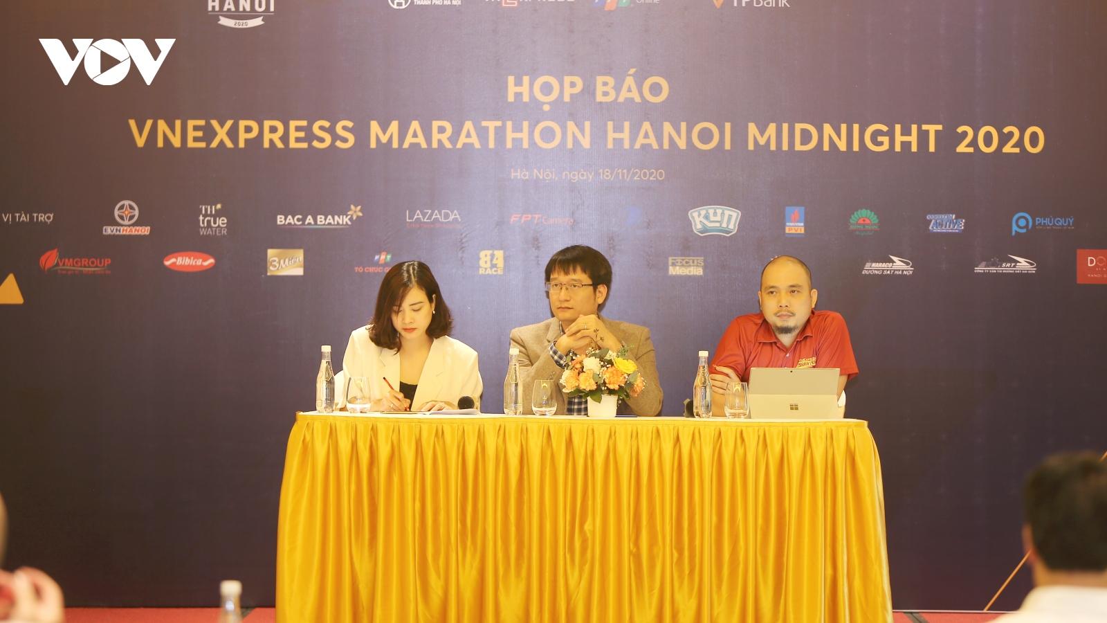 Cảm nhận đêm đông thủ đô cùng giải chạy đêm VnExpress Marathon Hanoi Midnight 2020