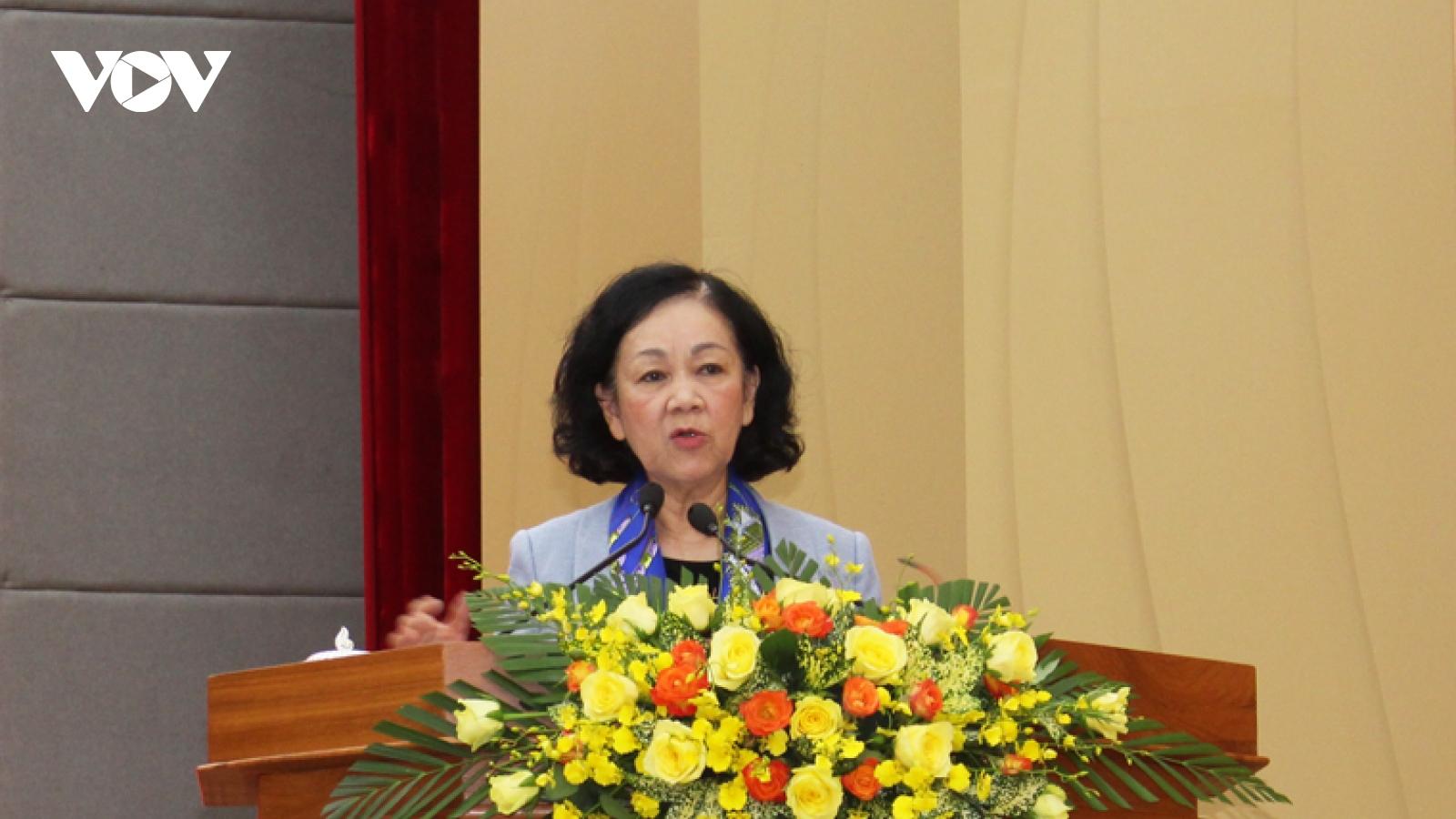 Bà Trương Thị Mai: Lâm Đồng cần giúp nông dân tham gia vào hệ thống bảo hiểm