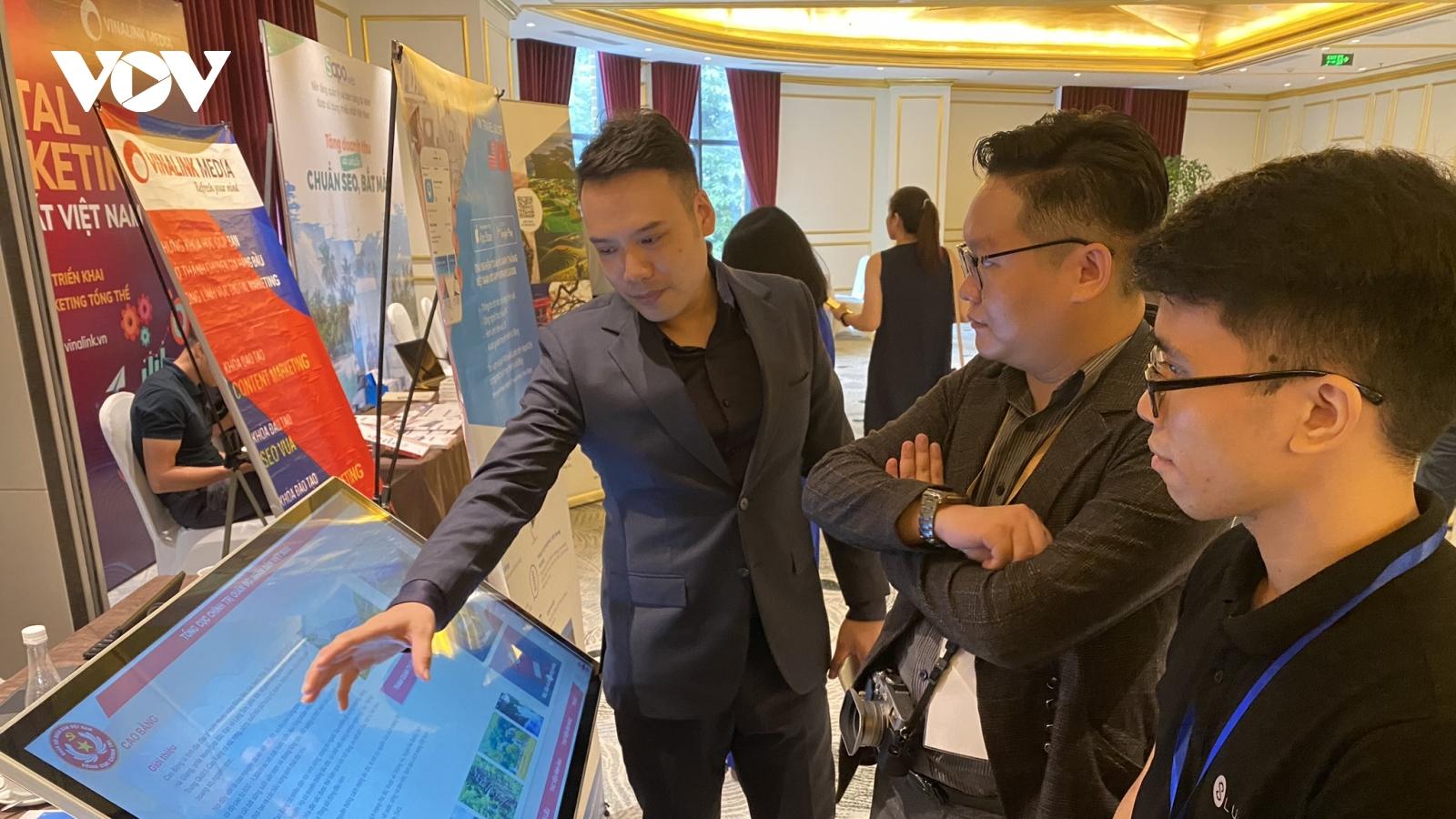 Đẩy mạnh ứng dụng công nghệ, chuyển đổi số du lịch tại hội chợ VITM 2020