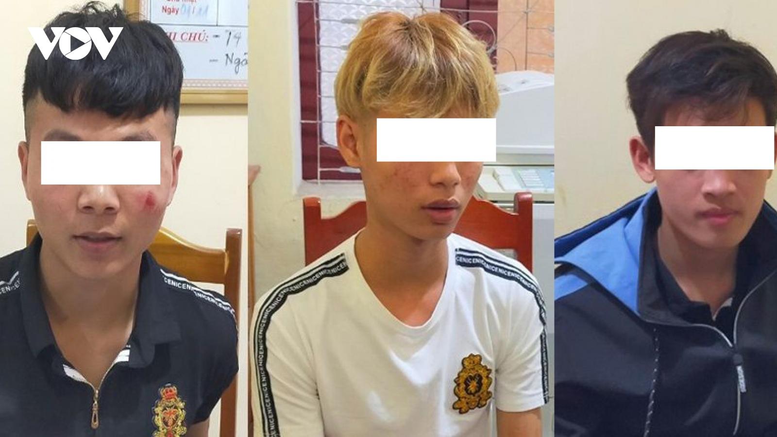 3 nam thanh niên giết người, cướp tài sản ở Thanh Hóa sa lưới