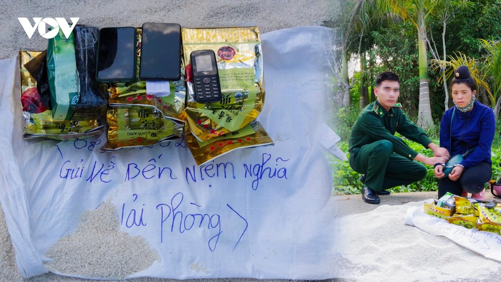 Cô gái vận chuyển 6kg ma tuý đá để lấy 5 triệu đồng tiền công