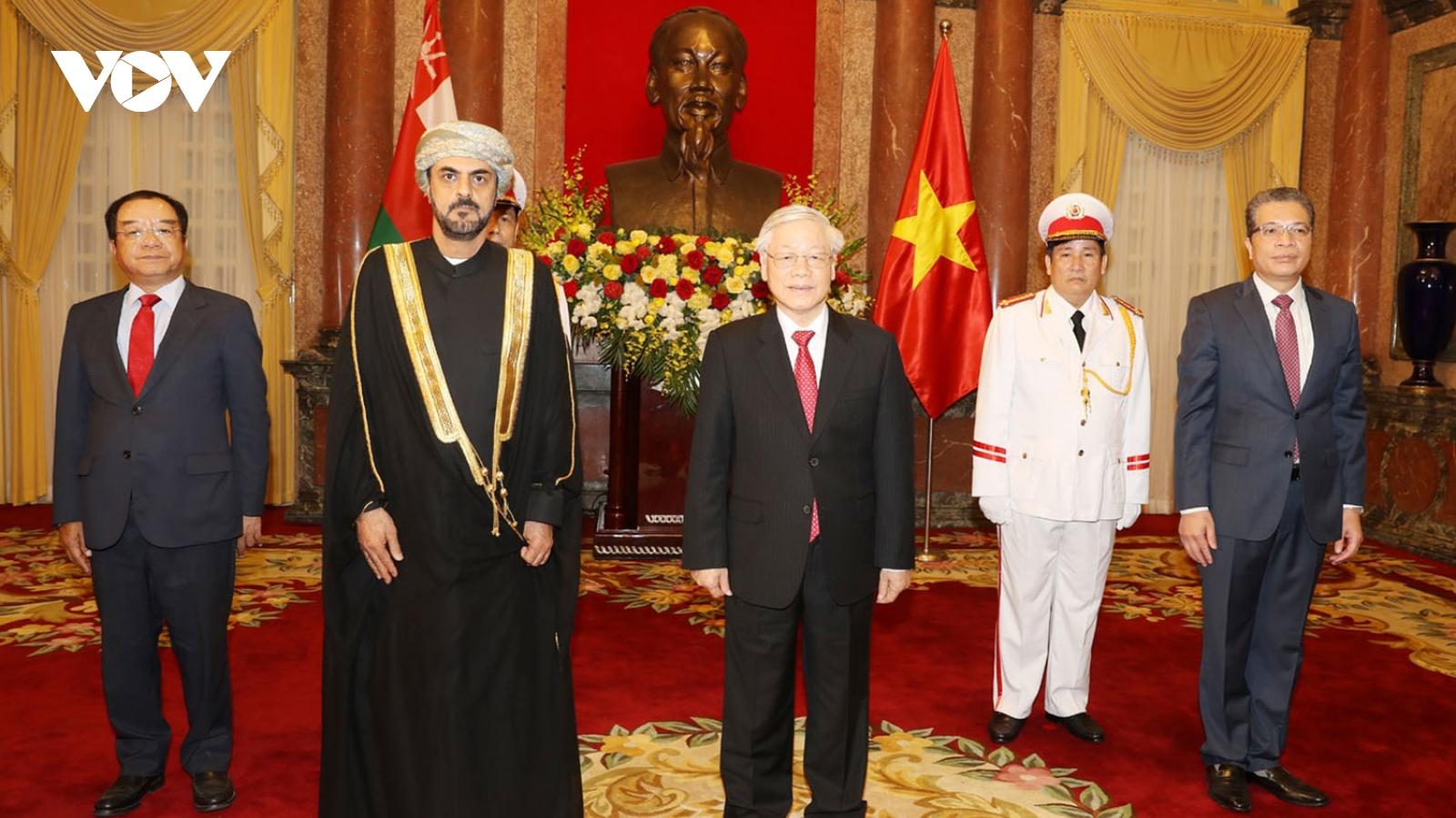 Tổng Bí thư, Chủ tịch nước gửi điện mừng Quốc khánh Oman