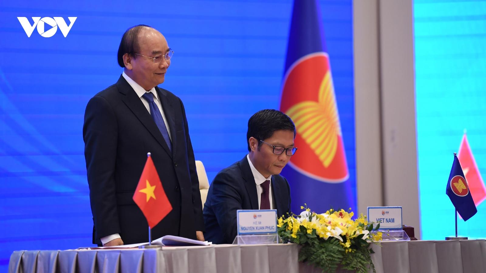 RCEP giúp nâng cao vai trò trung tâm ASEAN đối với khu vực