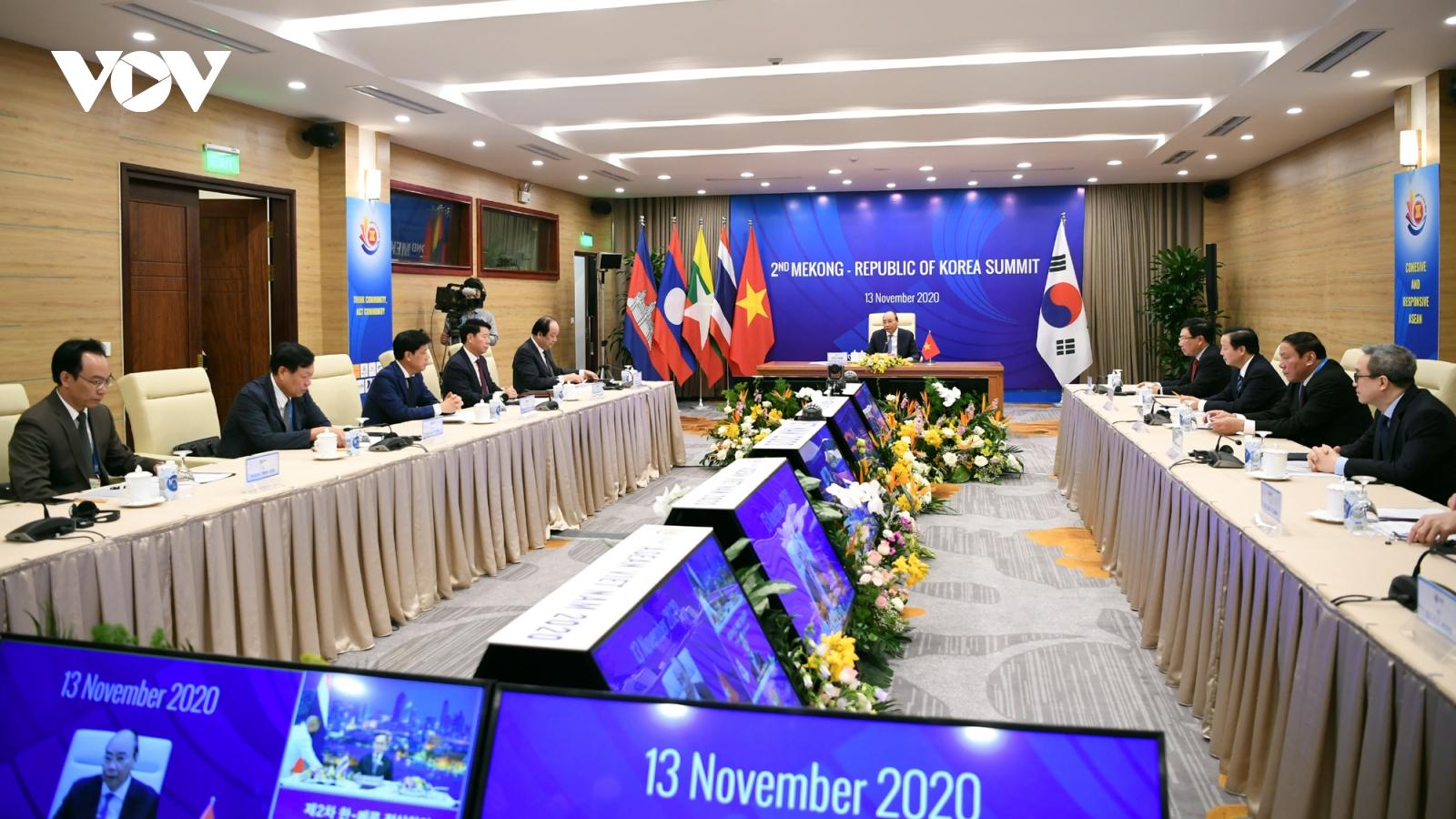 Nâng cấp hợp tác Mekong-Hàn Quốc lên Quan hệ Đối tác chiến lược