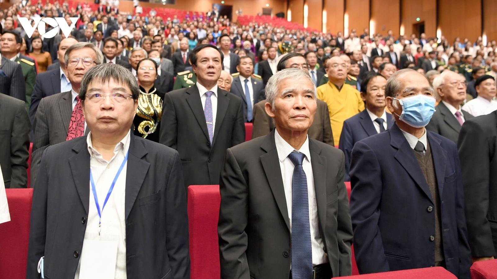 Mít tinh kỷ niệm 90 năm ngày truyền thống Mặt trận Tổ quốc Việt Nam