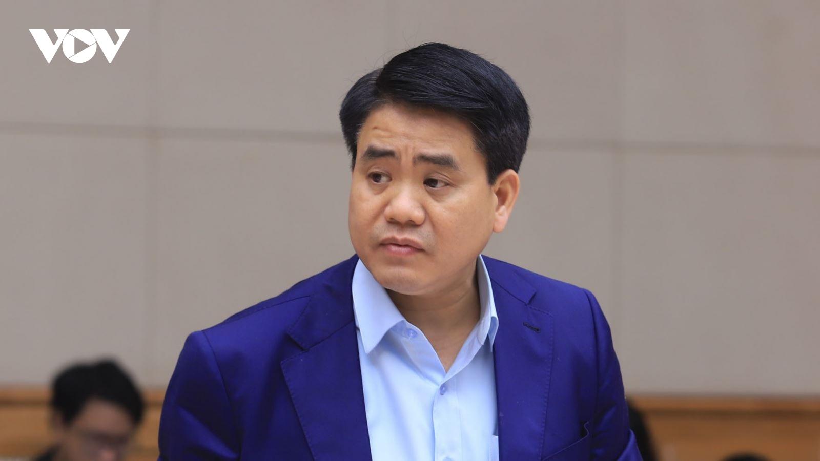 Nóng 24h: Ông Nguyễn Đức Chung bị truy tố với khung hình phạt 10-15 năm tù