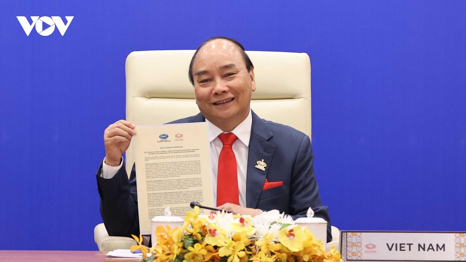 Thủ tướng đưa ra đề xuất có ý nghĩa chiến lược thúc đẩy hợp tác APEC