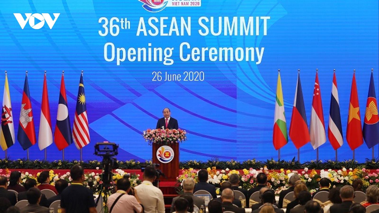 Hội nghị cấp cao ASEAN 37 diễn ra từ 12-15/11 theo hình thức trực tuyến