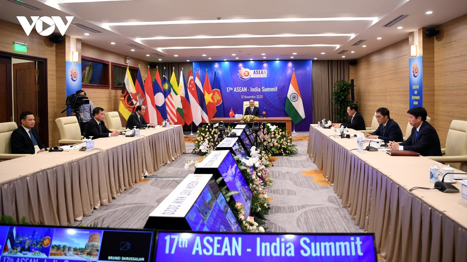Ấn Độ sẵn sàng cùng ASEAN hợp tác, phấn đấu vì Biển Đông hòa bình, ổn định