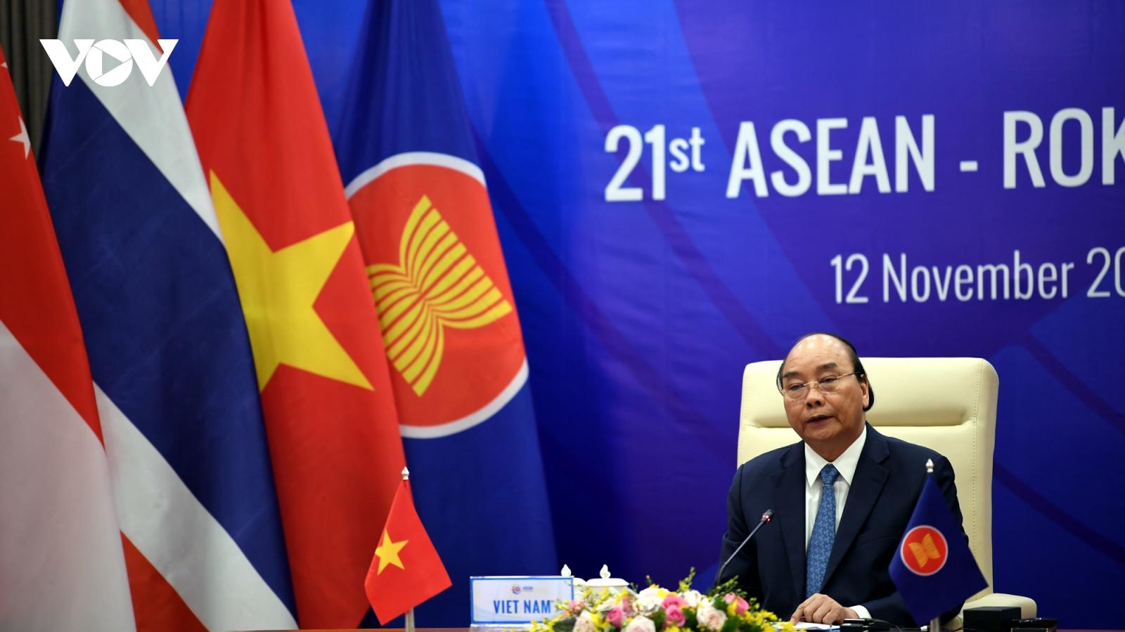 Hàn Quốc ưu tiên tăng cường và làm sâu sắc hơn nữa hợp tác với ASEAN