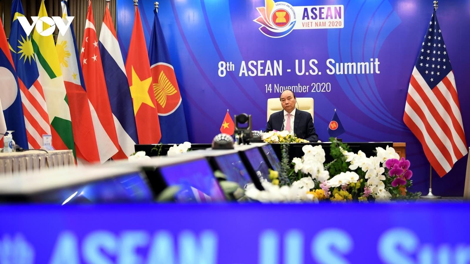 ASEAN-Hoa Kỳ thúc đẩy nỗ lực vượt qua đại dịch Covid-19