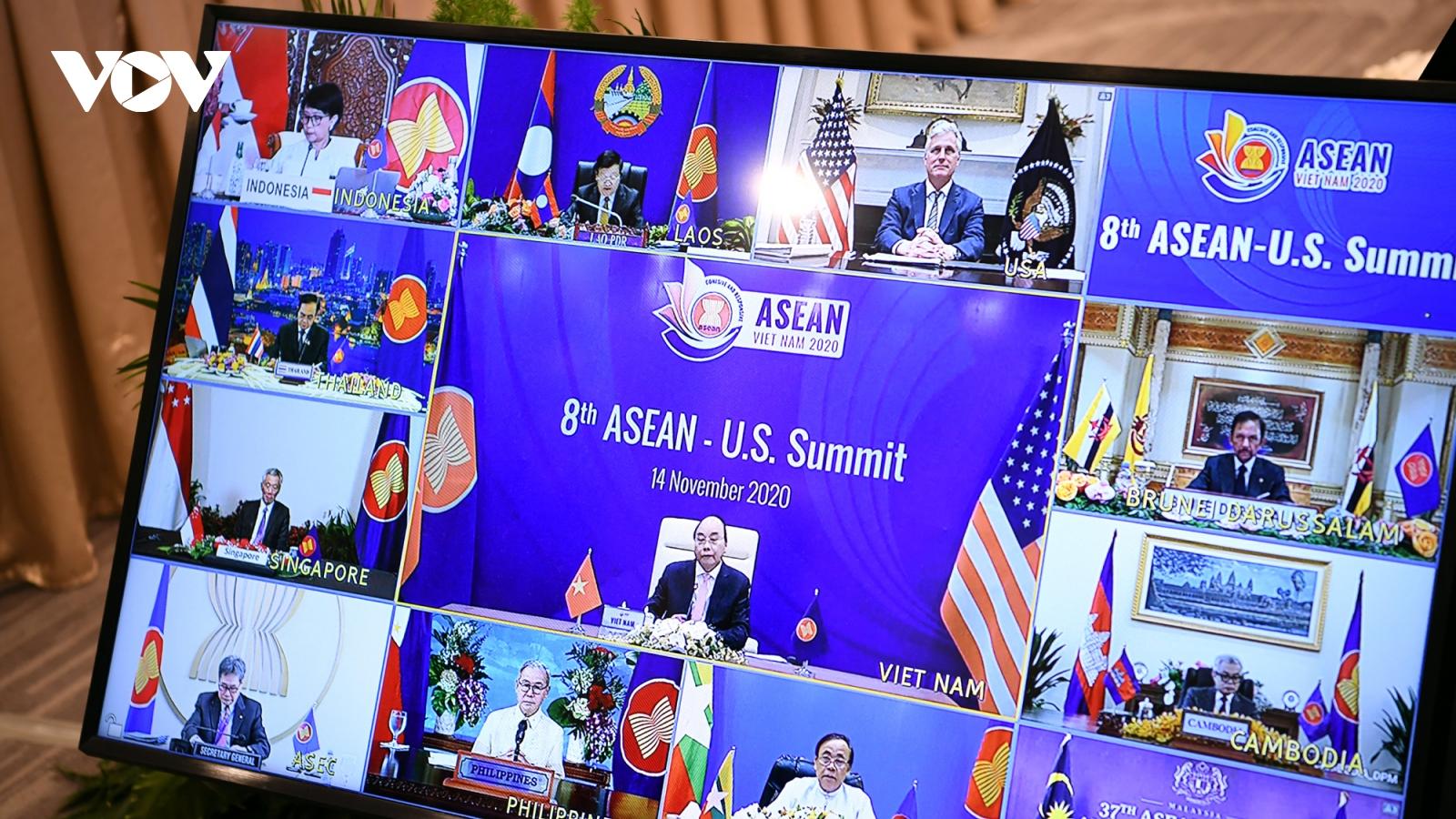 ASEAN hoan nghênh Hoa Kỳ đóng góp tích cực duy trì hòa bình, ổn định ở Biển Đông