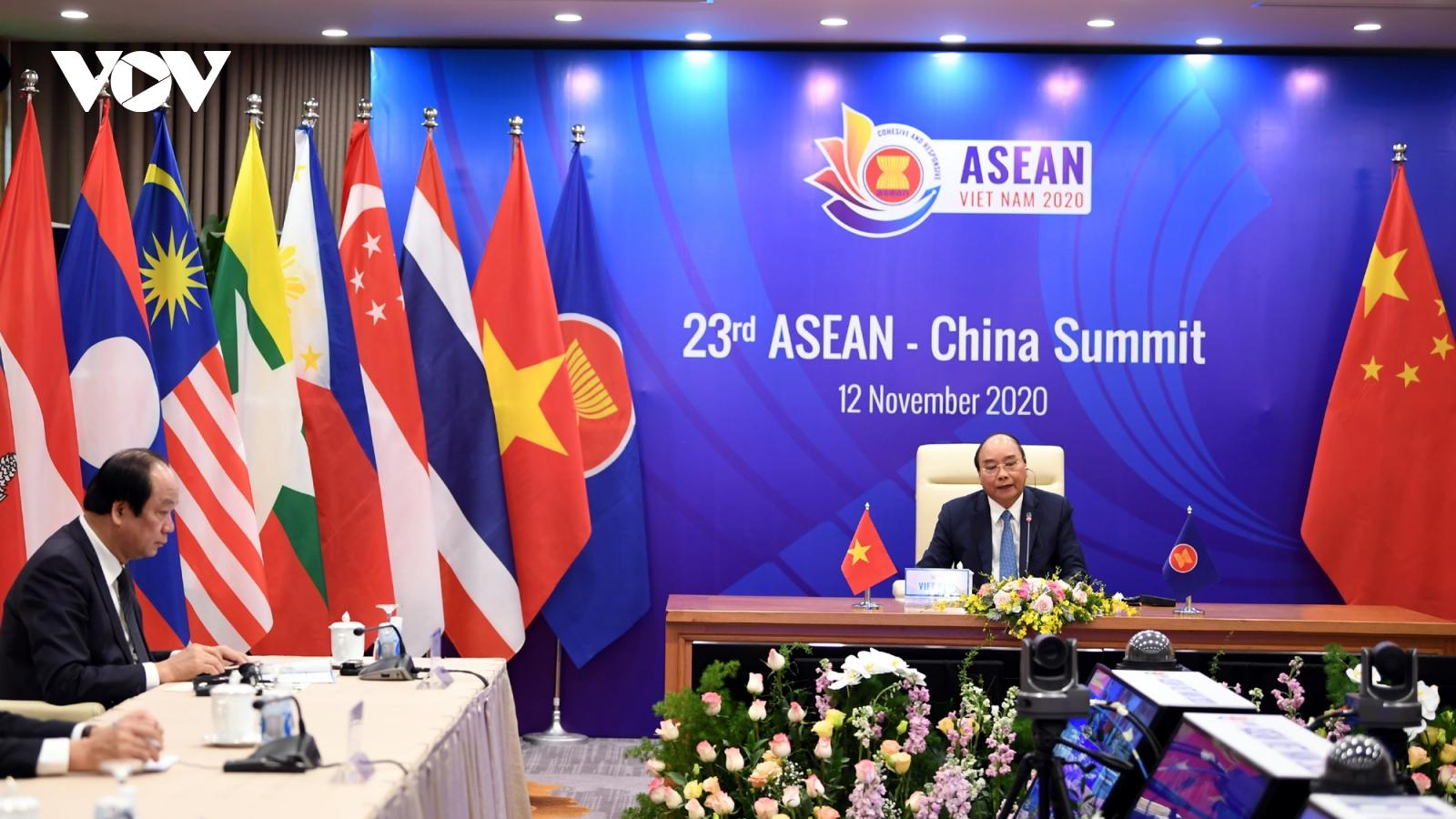 Bất chấp Covid-19, hợp tác ASEAN-Trung Quốc vẫn được tiến hành linh hoạt