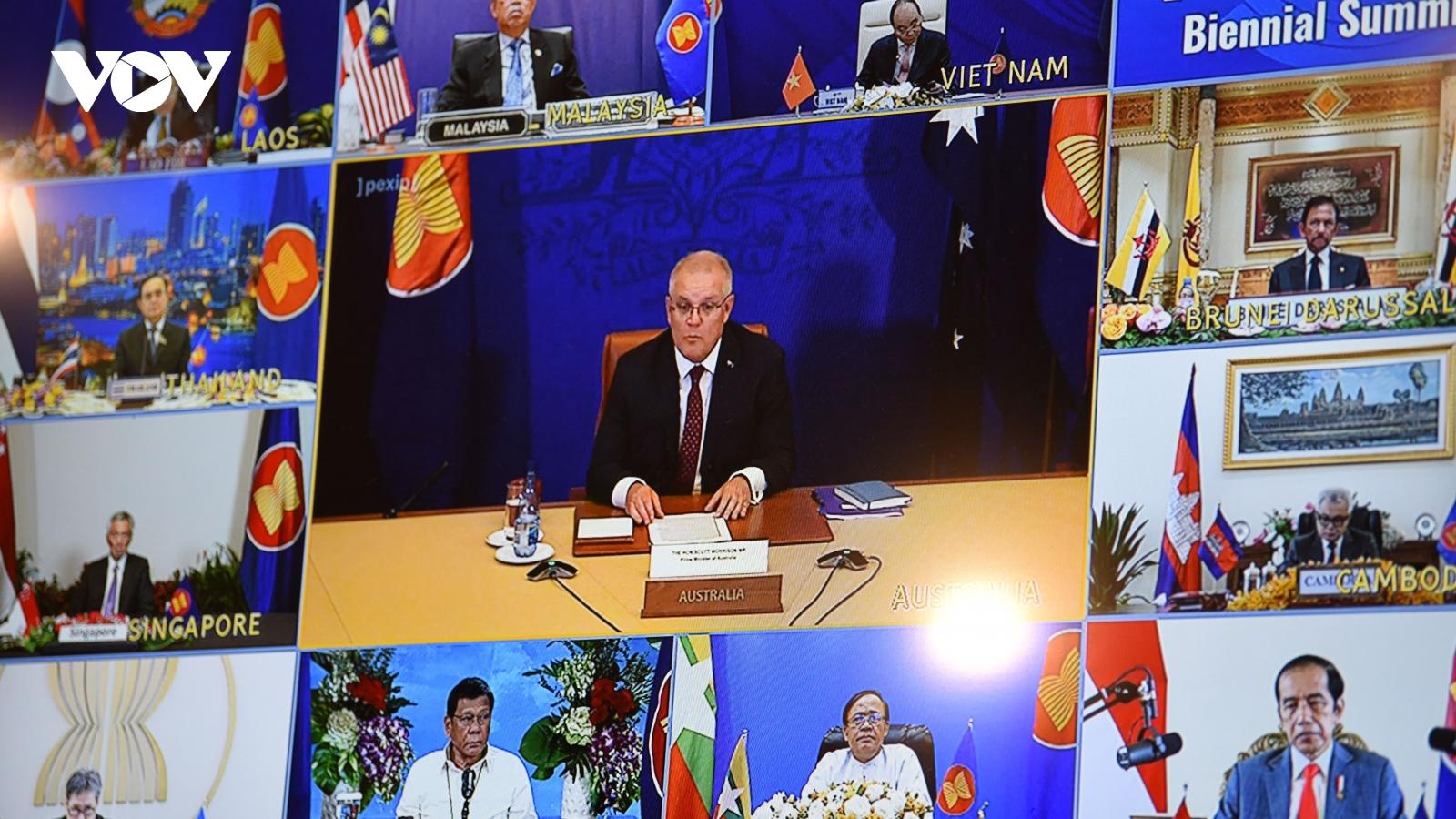 ASEAN là đối tác đối thoại hàng đầu của Australia trong phục hồi sau Covid-19