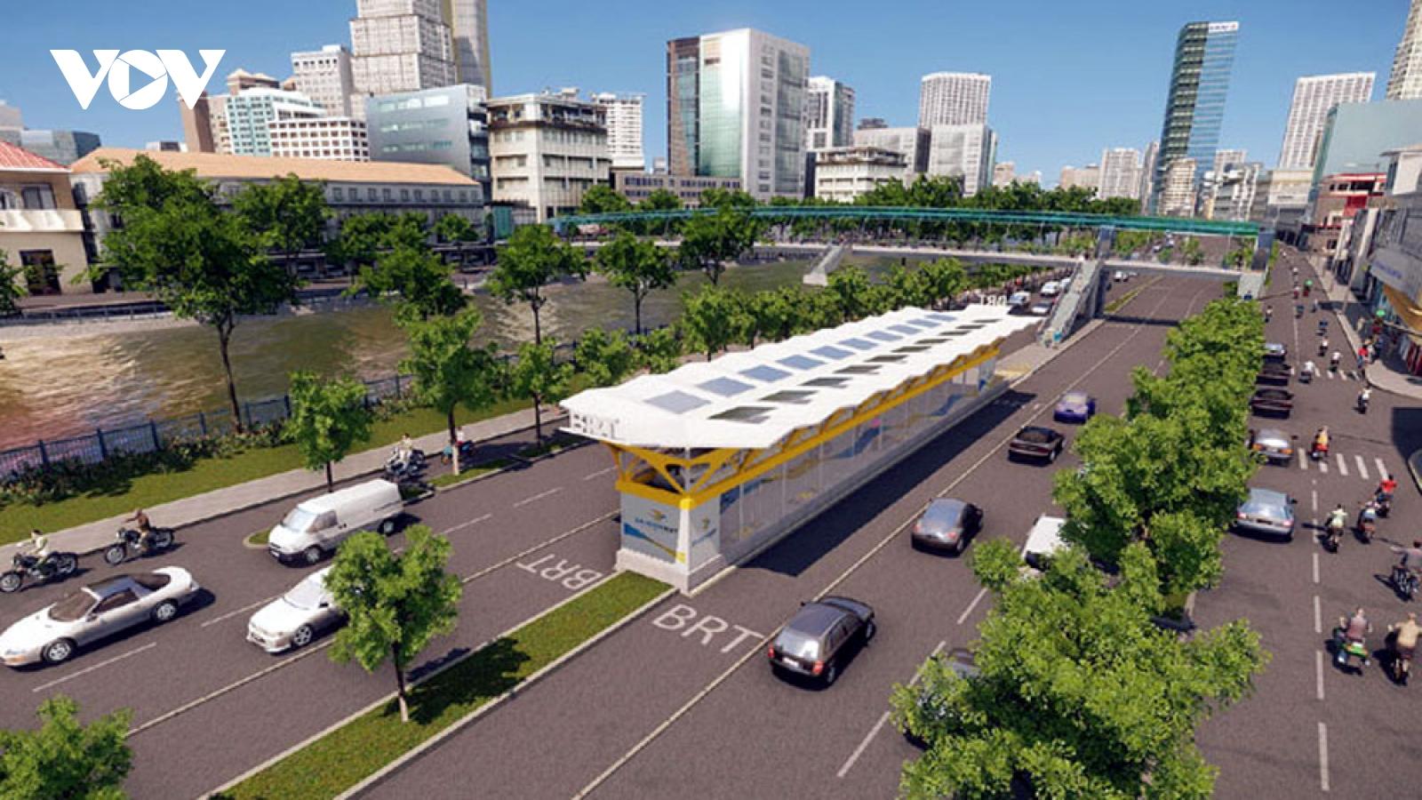 TP HCM kiến nghị gia hạn thực hiện tuyến BRT số 1