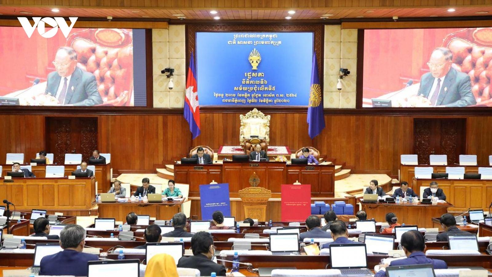 Quốc hội Campuchia thông qua nghị định thư về phân giới, cắm mốc với Việt Nam