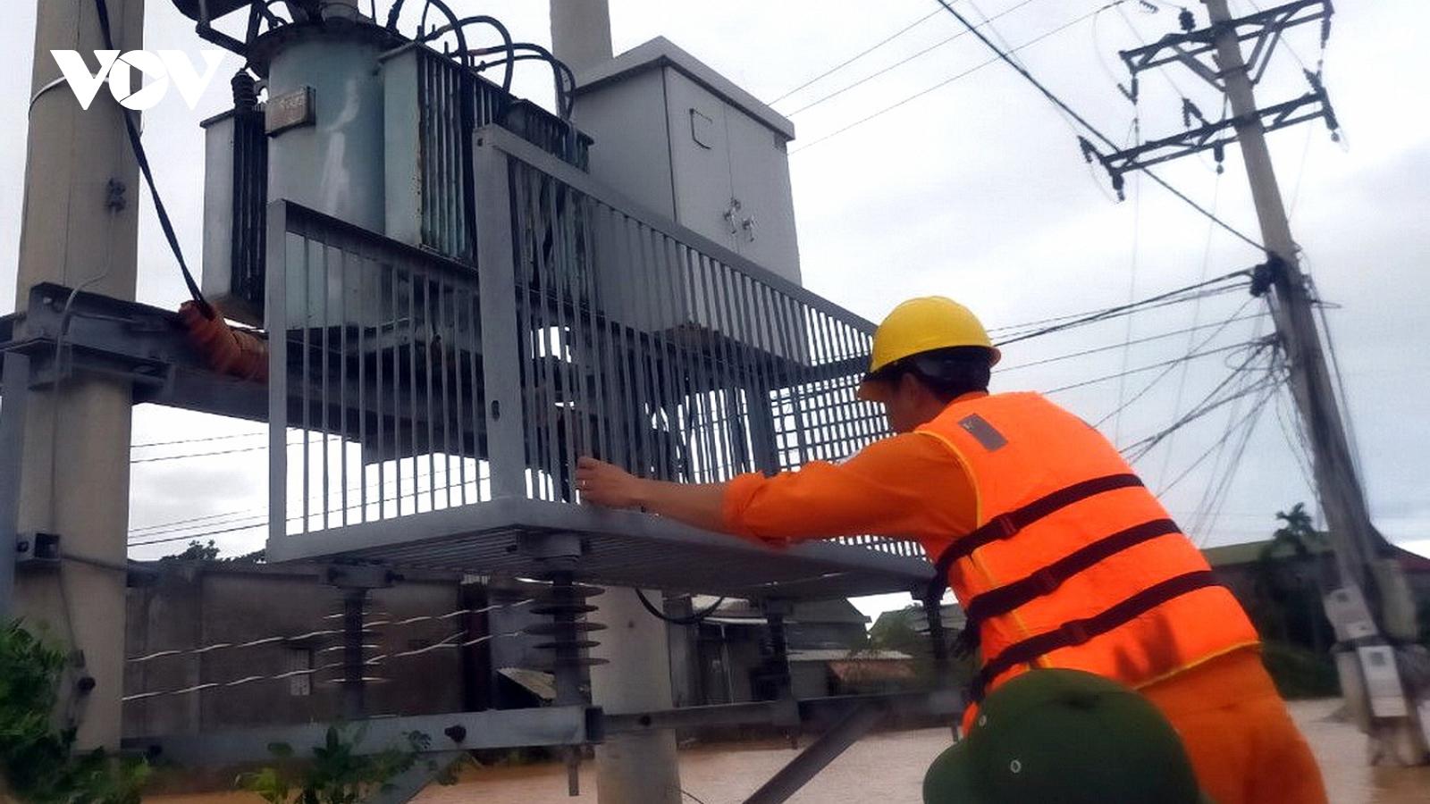 Sẽ hoàn thành sửa chữa điện cho người dân do ảnh hưởng bão số 13