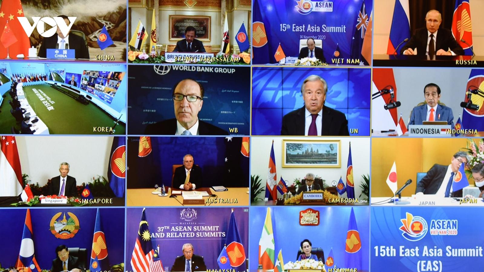 Hội nghị Cấp cao Đông Á ghi nhận nỗ lực đảm bảo hòa bình, ổn định ở Biển Đông