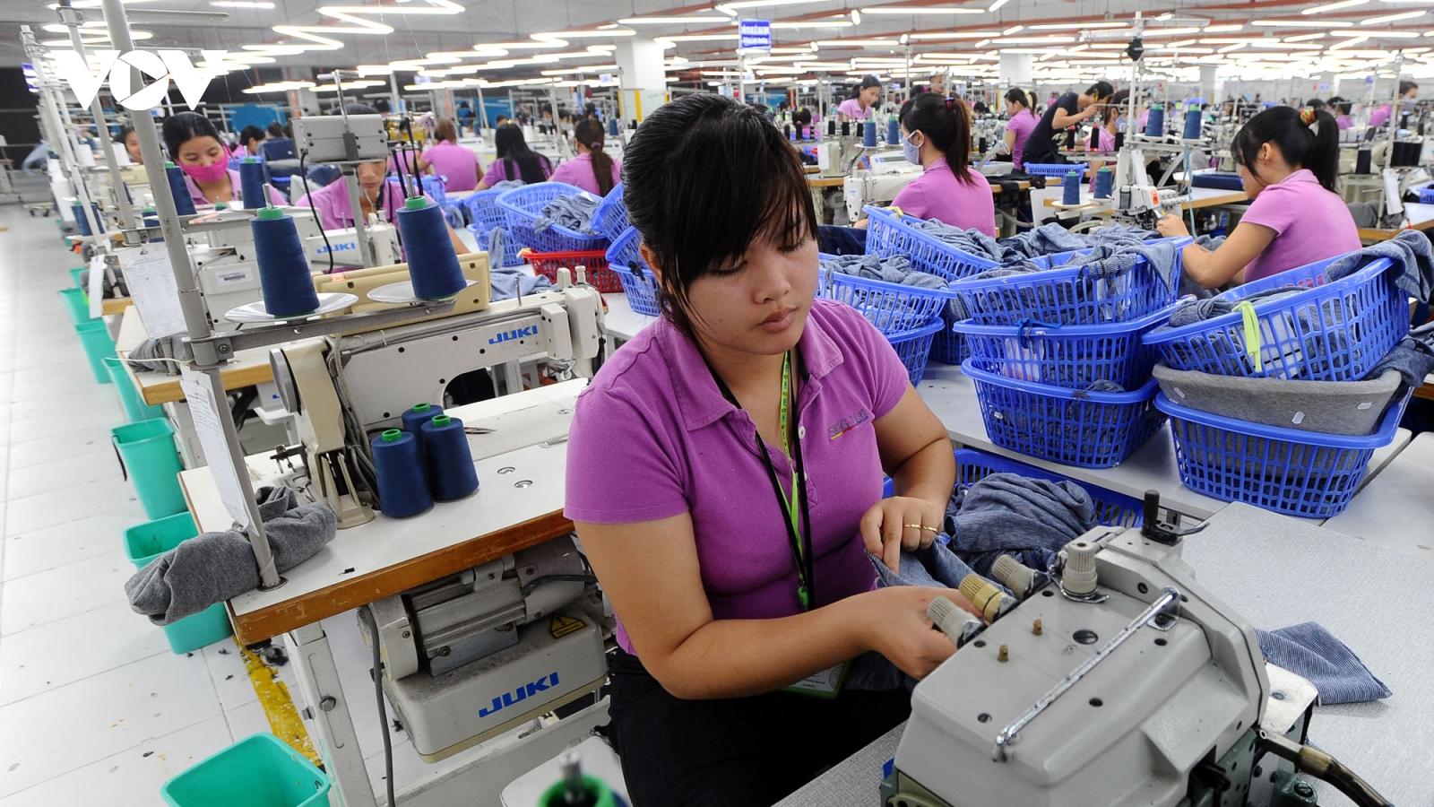 Xuất khẩu dệt may có khả năng vượt ngưỡng vào Liên minh Kinh tế Á Âu