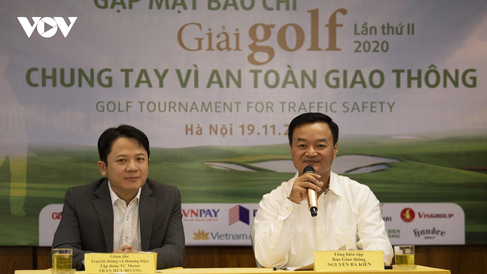 """Giải Golf gây quỹ """"Chung tay vì An toàn giao thông"""": Lan tỏa tinh thần tương thân tương ái"""
