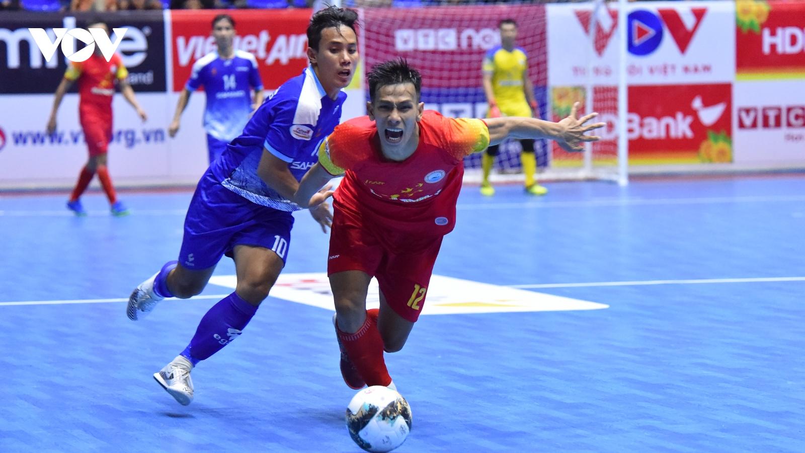 Sannatech Khánh Hòa tạo nên chung kết trong mơ với Thái Sơn Nam