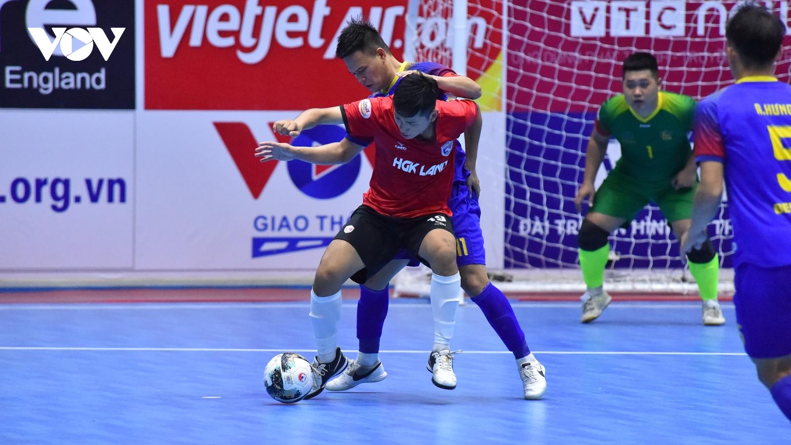 Futsal HDBank Cúp Quốc gia 2020: Hưng Gia Khang Đắk Lắk thất bại 3 giây cuối