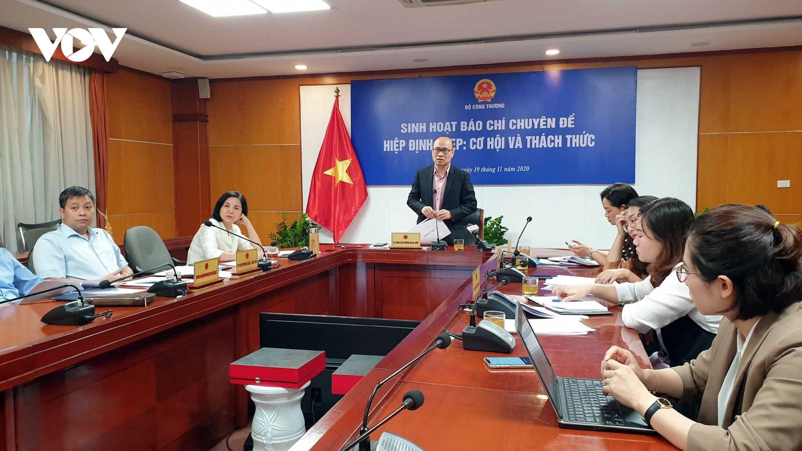 Sẽ có Chương trình hành động của Chính phủ để triển khai RCEP