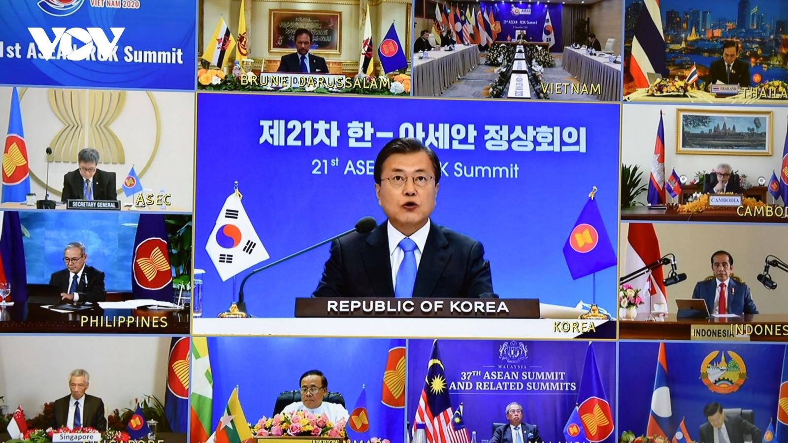 Hàn Quốc muốn cùng ASEAN hưởng thịnh vượng hậu Covid-19