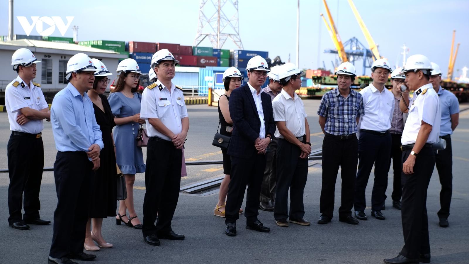 VOV thúc đẩy hợp tác truyền thông với TCT Tân Cảng Sài Gòn