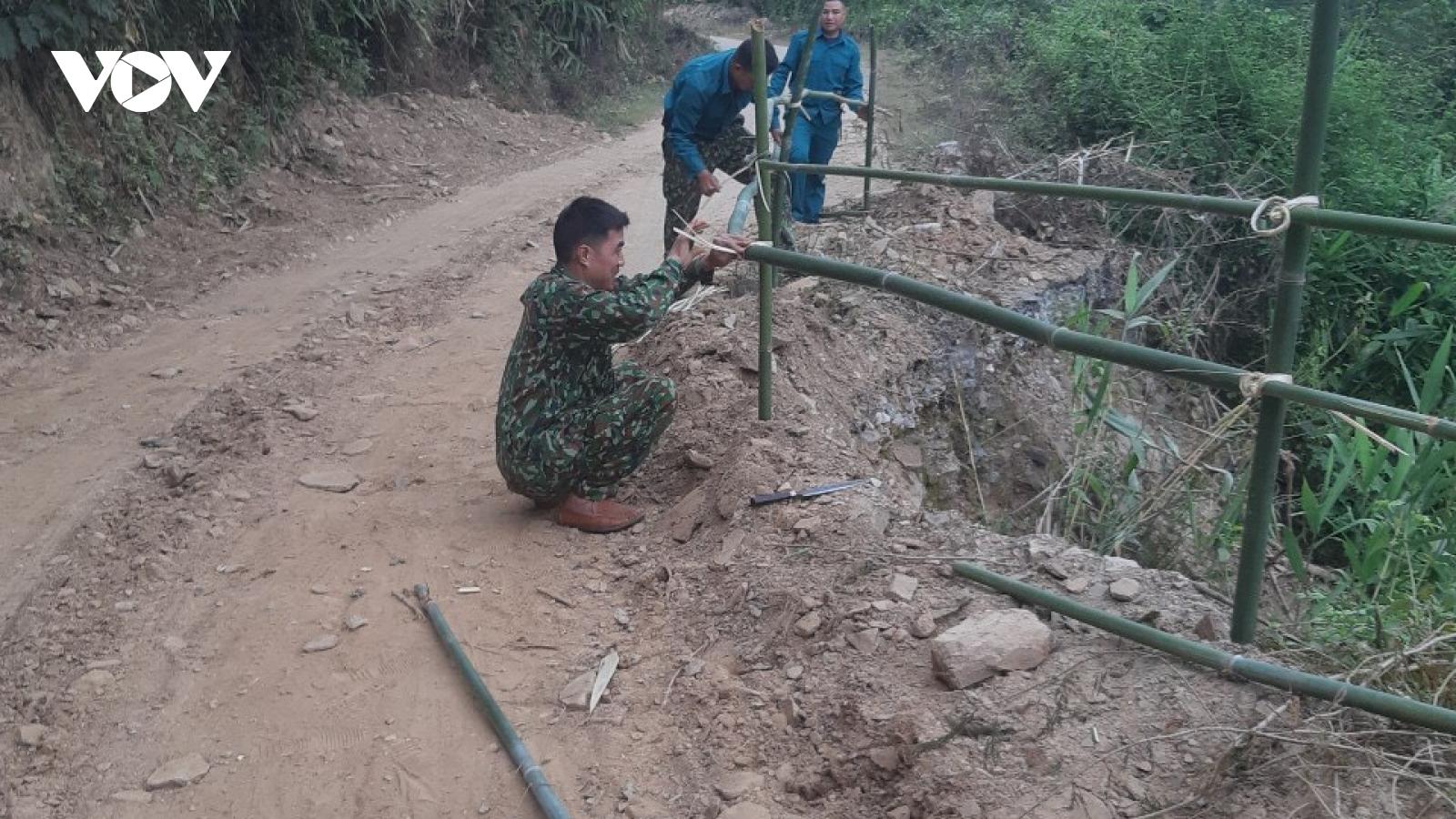 Sau phản ánh của VOV, tỉnh Sơn La khắc phục đường liên tỉnh