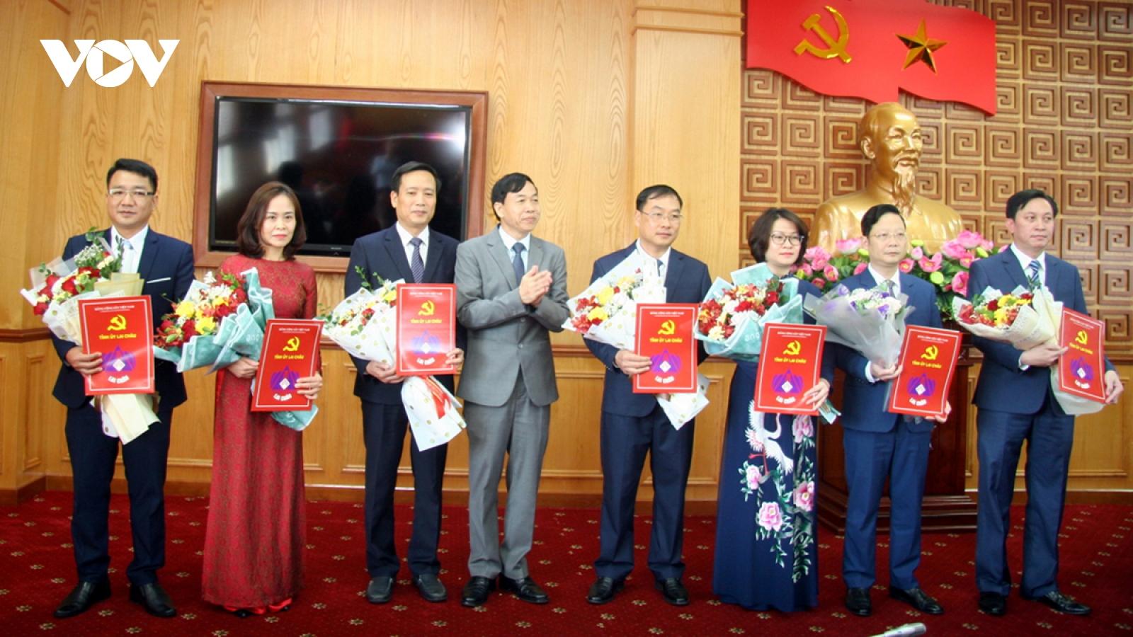 Lai Châu điều động, bổ nhiệm nhiều cán bộ chủ chốt