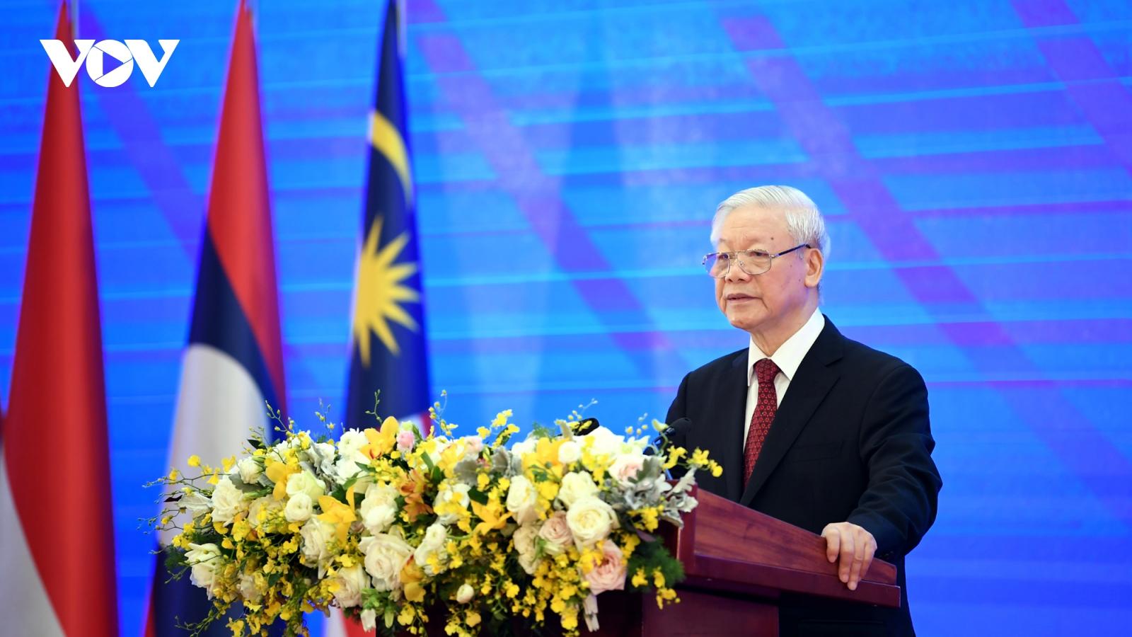 Toàn văn phát biểu của Tổng Bí thư, Chủ tịch nước tại Hội nghị Cấp cao ASEAN 37