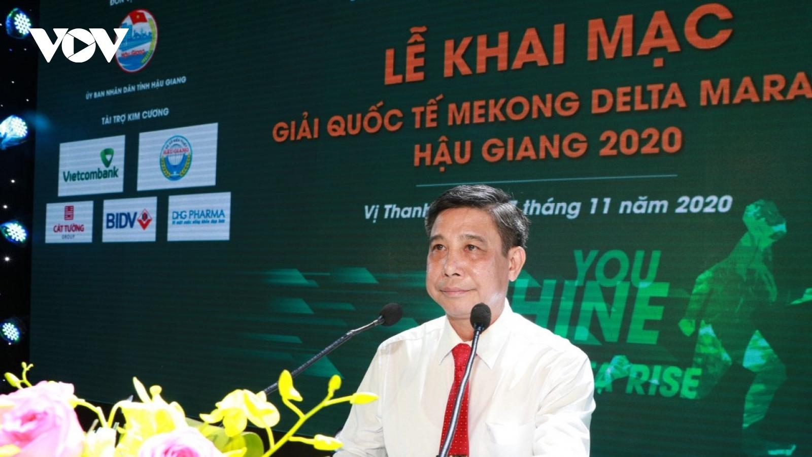 "Khai mạc Giải Marathon quốc tế ""Mekong Delta Marathon"" Hậu Giang 2020"
