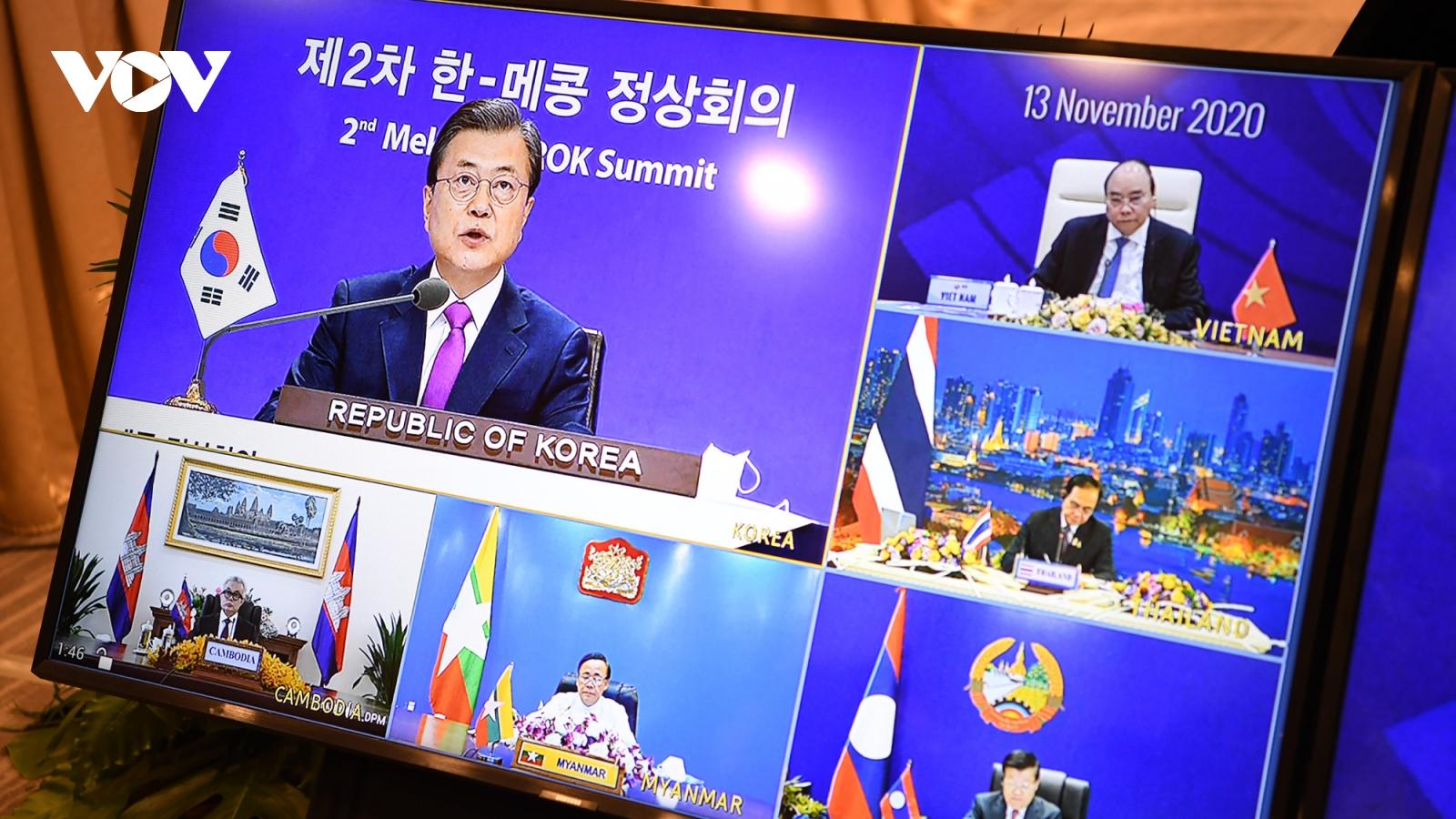 Hợp tác Mekong-Hàn Quốc phát triển mạnh mẽ cả về chiều rộng và chiều sâu