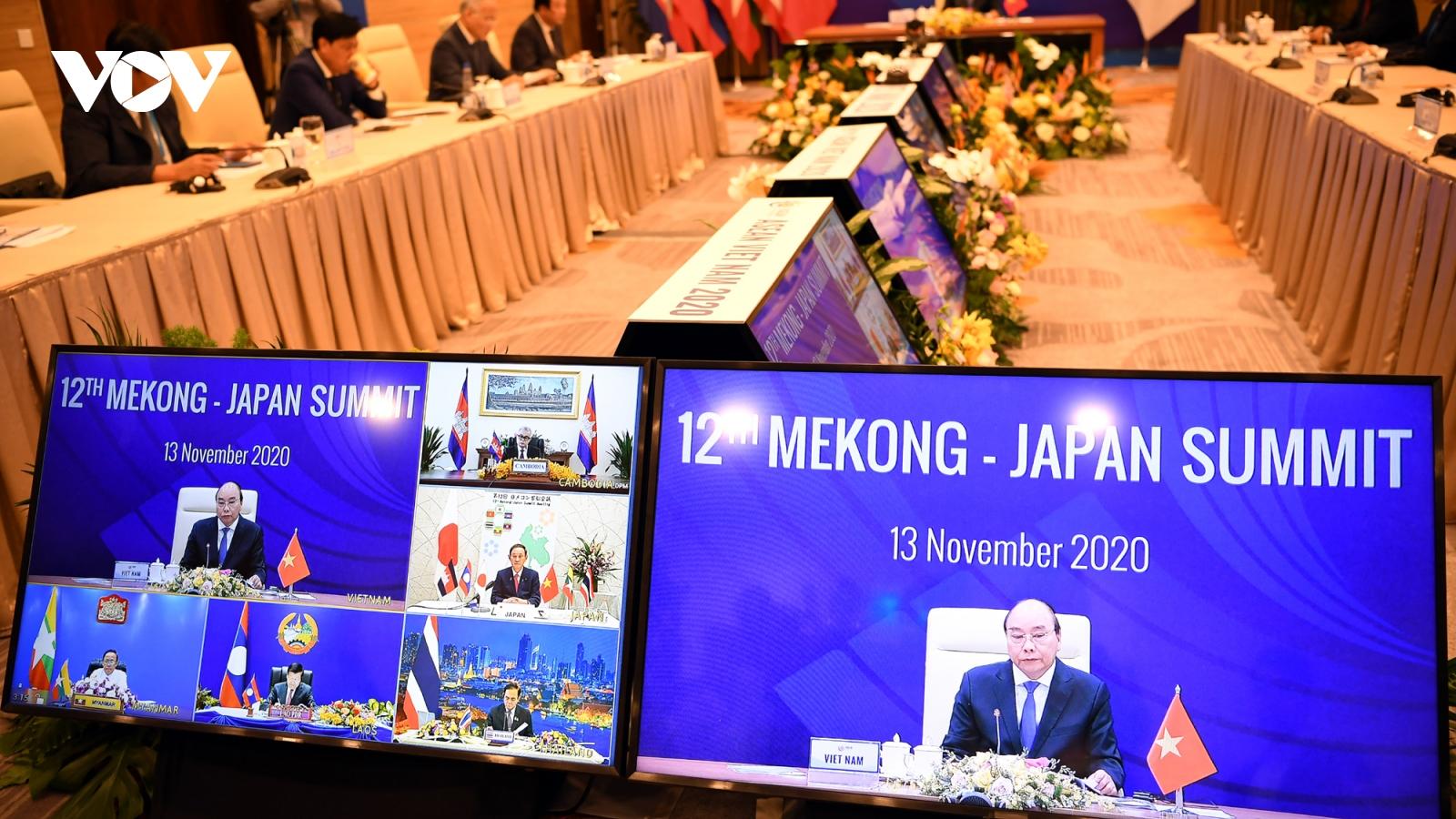 Các nước Mekong và Nhật Bản tăng kết nối, bảo vệ môi trường, giảm hậu quả thiên tai