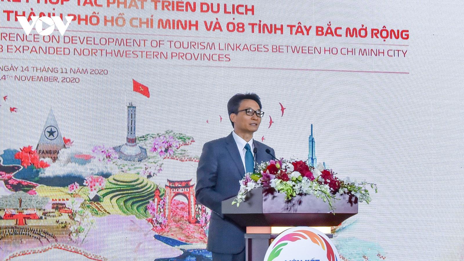 Phó Thủ tướng Vũ Đức Đam: Tạo sức mạnh tổng hợp từ liên kết du lịch TP.HCM và Tây Bắc