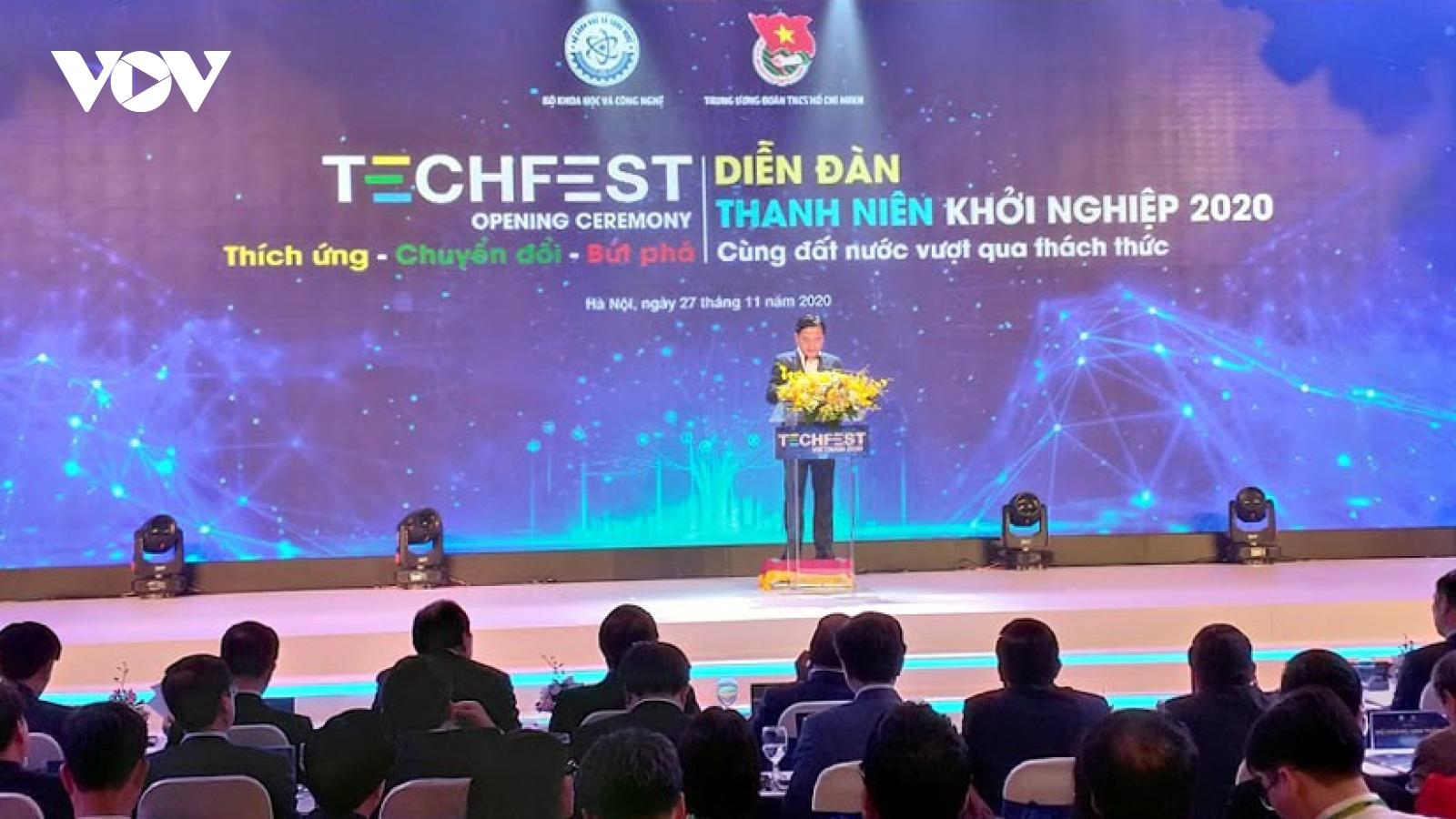Techfest Vietnam 2020 nâng hình ảnh Hệ sinh thái khởi nghiệp Việt Nam