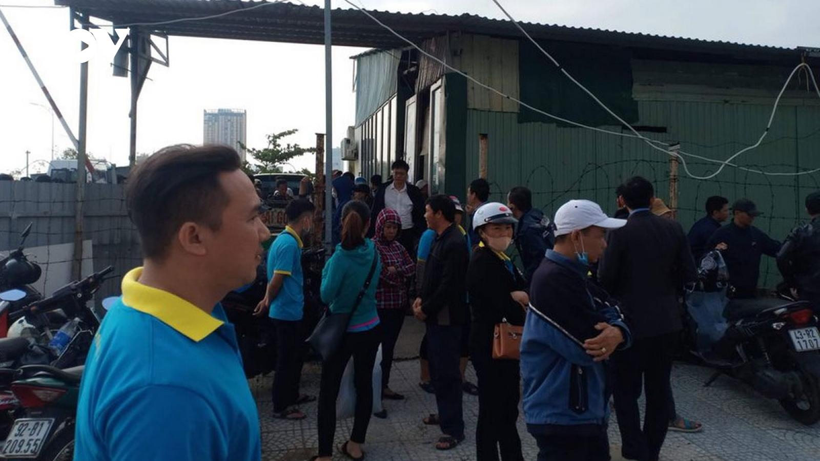 Hơn 100 tài xế, nhân viên xe buýt ở Đà Nẵng ngừng việc