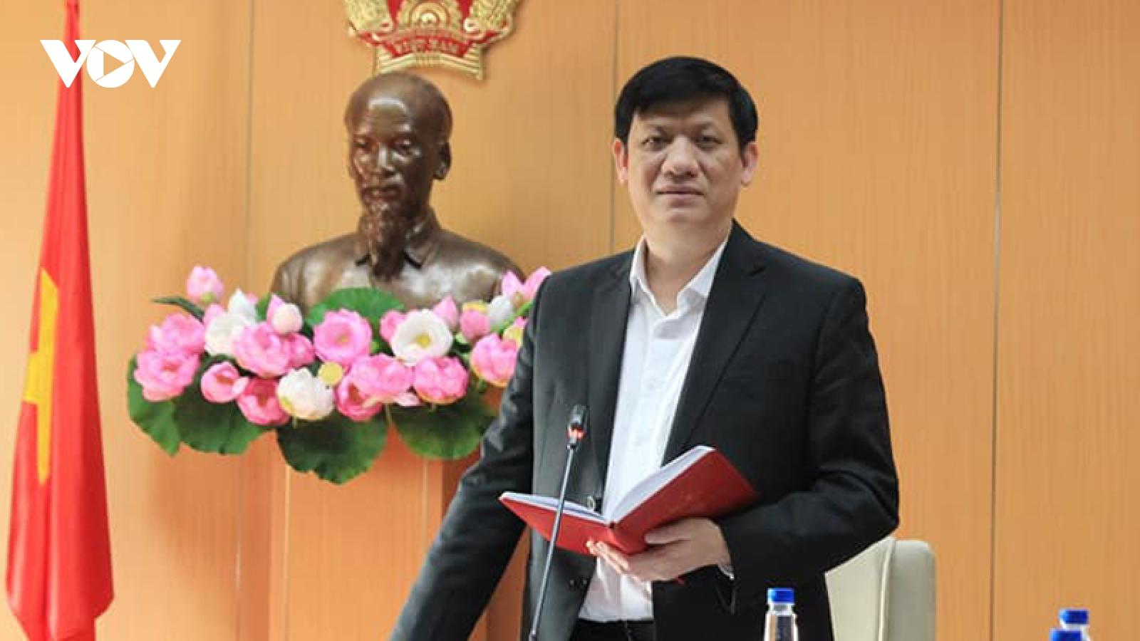 """Bộ trưởng Y tế: """"Nguy cơ lây nhiễm Covid-19 từ các nước vào Việt Nam vẫn hiện hữu"""""""