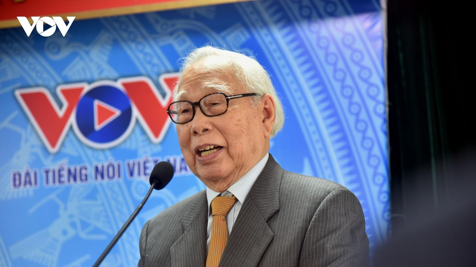 """Nhà báo Phan Quang – người dành cả đời với """"mối tình báo chí"""""""