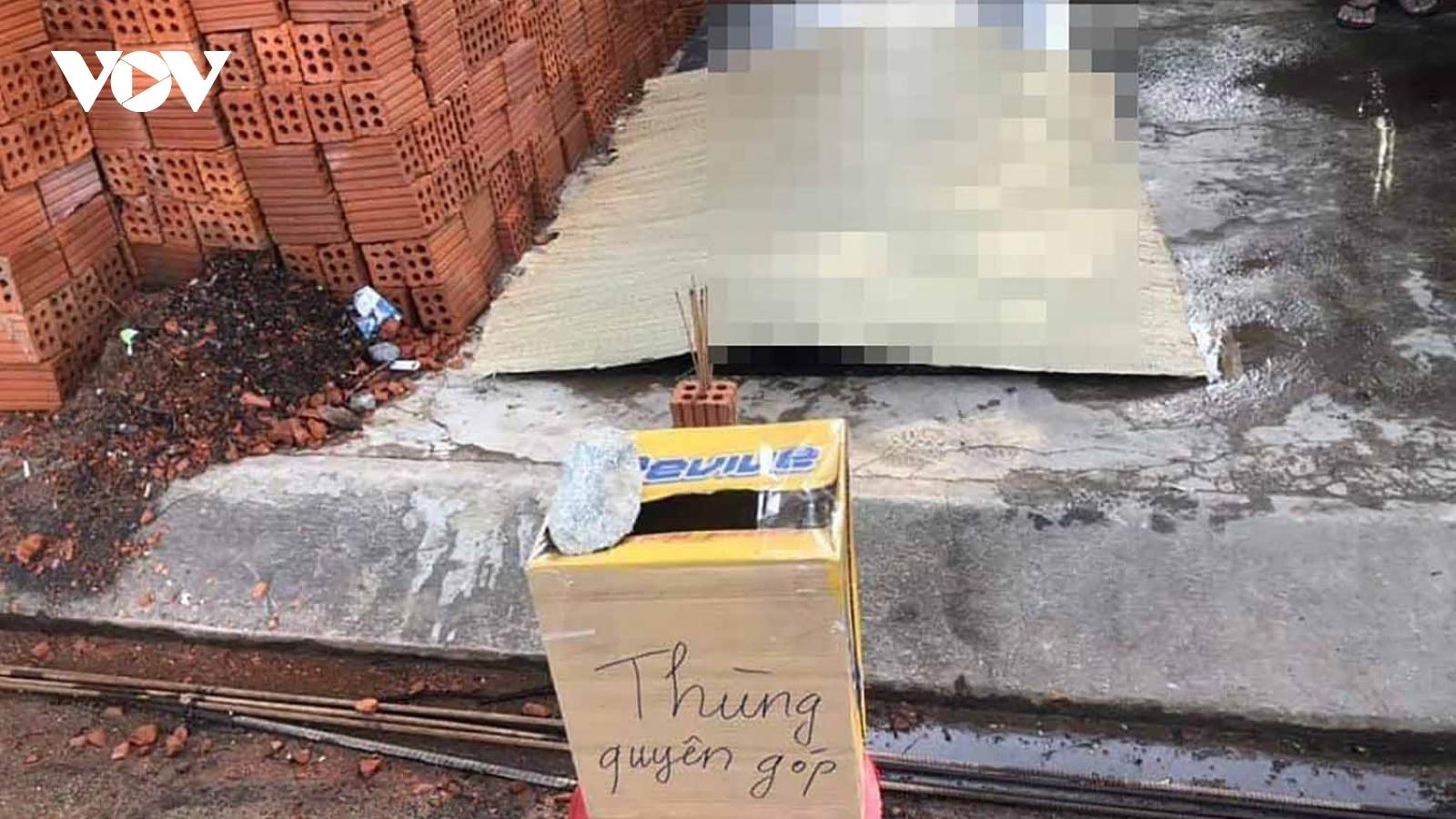 Một công nhân tử vong khi rơi từ tầng 4 công trình thi công