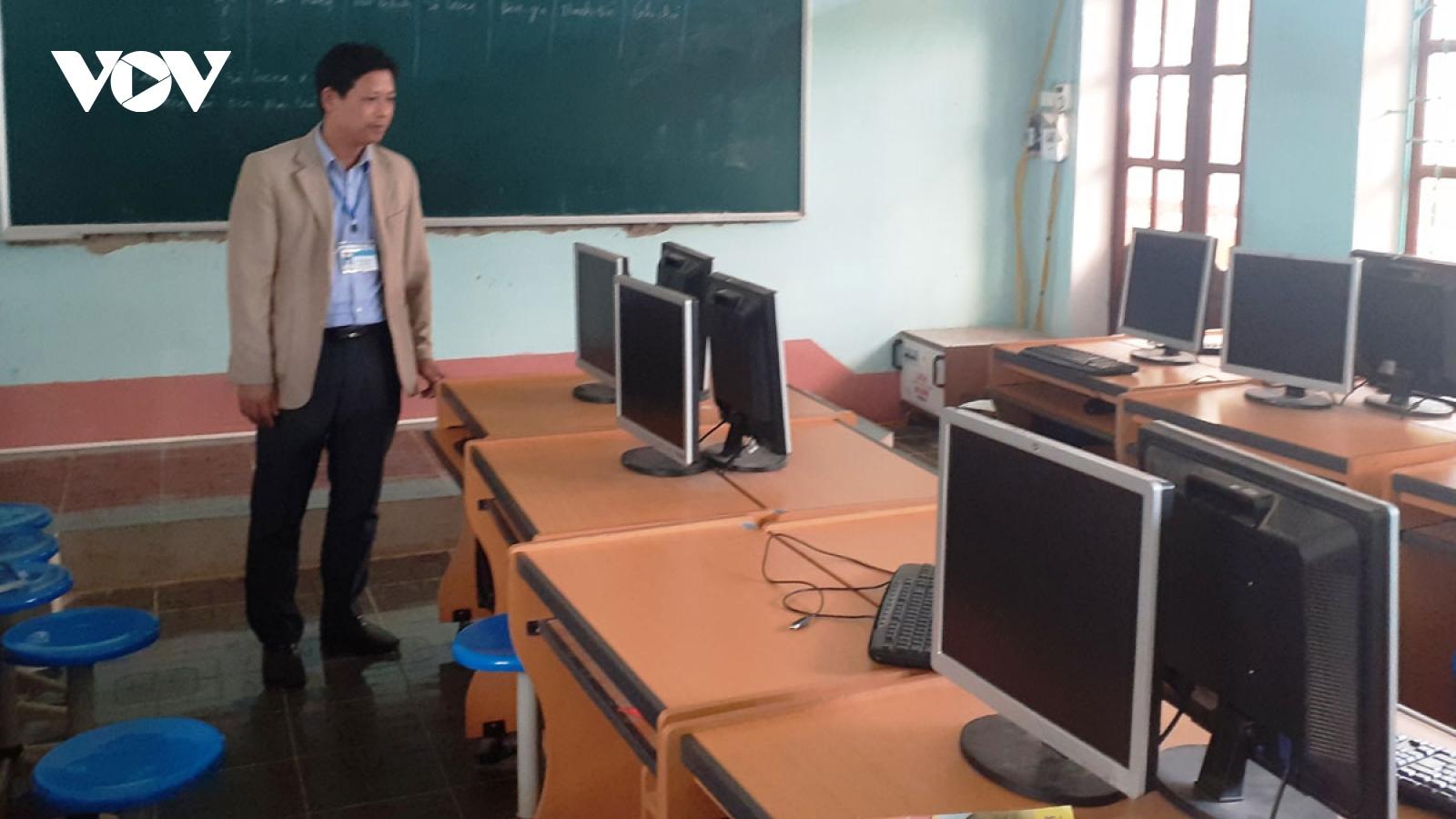 Nhiều khó khăn khi triển khai chương trình giáo dục phổ thông mới ởHà Giang