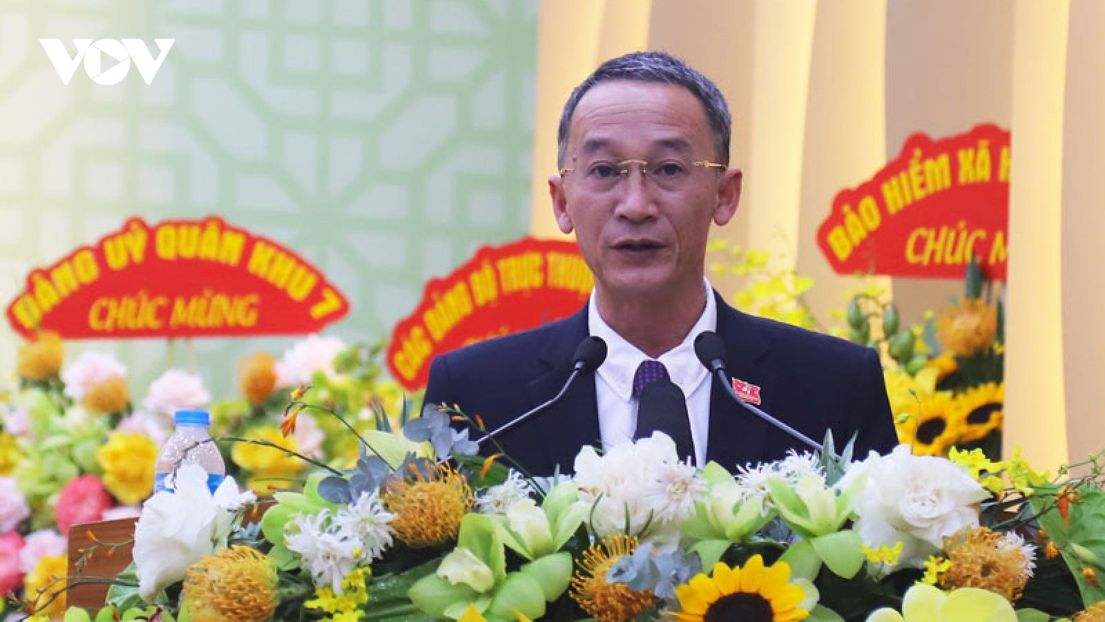 Ông Trần Văn Hiệp đượcbầu làm Chủ tịch UBND tỉnh Lâm Đồng