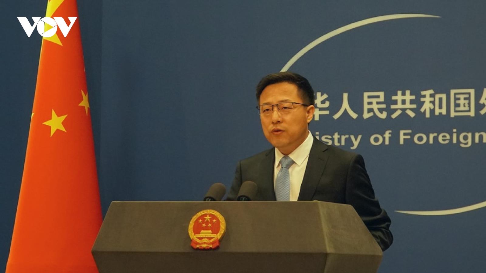 """Trung Quốc sẽ """"phản ứng cần thiết"""" với chuyến thăm Đài Loan củaquan chức tình báo Mỹ"""