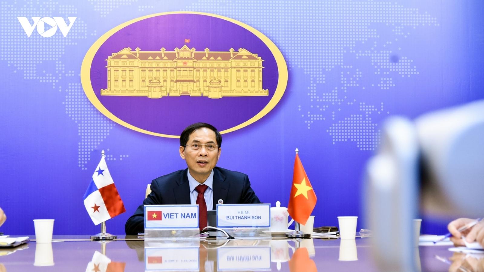 Việt Nam – Panama thúc đẩy các trọng tâm ưu tiên hợp tác